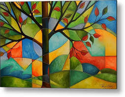 Tree of Life Metal Print by Peggy Davis