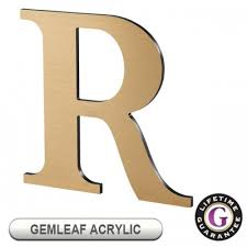 acrylic display sign letters by gemini