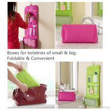foldable travel organizer toiletries