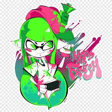Splatoon 2 T Shirt Art T Shirt Leaf Nintendo Png Pngegg