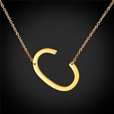 choker necklace personalized slant