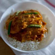 Easy South Indian Style Salmon Fish Curry