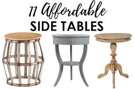 affordable side tables for decorating