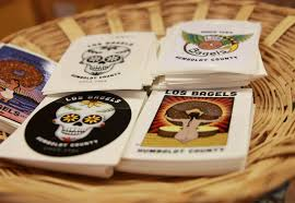 Vinyl Stickers Los Bagels