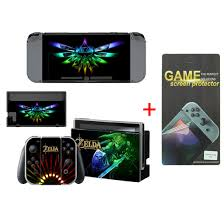 Zelda Vinyl Decal Cover Skin Stickers For Nintendo Switch With Screen Protector Ebay