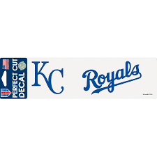 Kansas City Royals Decal 10in X 3in Party City