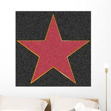 Walk Fame Star Wall Decal Wallmonkeys Com