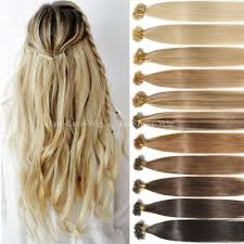 1g remy russian human hair extensions