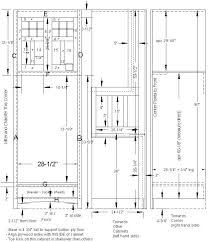 double oven cabinet plan oven cabinet