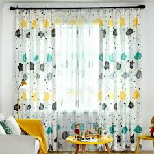 2020 Children Room Blackout Curtains Cartoon Cloud Letter Design For Kids Baby Room Modern Printed Living Room Window Curtain Drapes From Bigmum 4 51 Dhgate Com