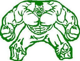 Hulk Decal Sticker