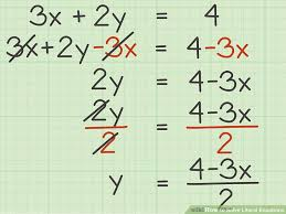solving literal equations with multiple