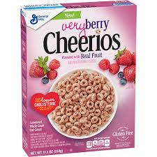 very berry cheerios gluten free oat