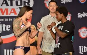 Arlene Blencowe defeats Gabrielle Holloway at Bellator 146 – Fight News  Australia