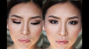 natural look makeup tutorial for asian