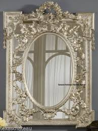 large ornate antique french regency