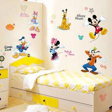 Mickey Minnie Mouse Donald Daisy Duck Pluto Goofy Wall Stickers Nursery Decal Ebay