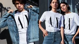 armani exchange clothing