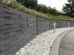 Concrete Fence Costs Stonetree Concrete Fence Walls