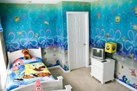 Kids Bedroom Decor Ideas Inspired By Spongebob Squarepants Kids Bedroom Decor Contemporary Bedroom Decor Stylish Kids Room