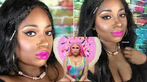 nicki minaj makeup tutorial super b