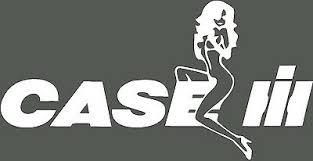 Case Ih Puma Tractor Decal Funny Girl On Logo Sticker X 2 Ebay