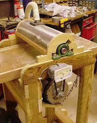 thickness sander and re saw jig