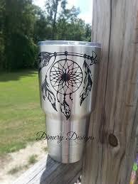 Dreamcatcher Vinyl Decal Sticker For Men Or Women Native Yeti Cup Designs Rtic Cup Designs Decals For Yeti Cups