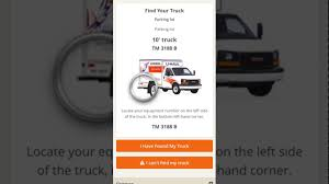 moving truck with u haul truck