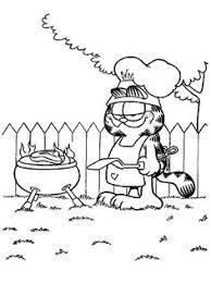 8 Beste Afbeeldingen Van Garfield Kleurplaten Kleuren En Cartoons