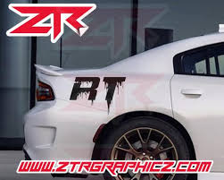 Custom Dodge Charger Dripping Rt Quarter Panel Decals Ztr Graphicz