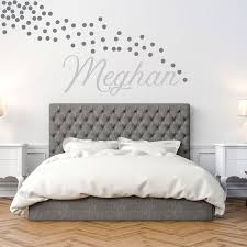 Personalized Wall Decal Girl Name Wall Decal Nursery Wall Etsy