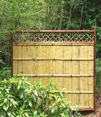 Prebuilt Bamboo Fence Panel Fence Panels Bamboo Fence Rustic Fence
