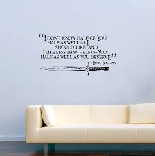 com vinyl wall decals j r r tolkien quotes i don t know