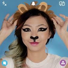 diy makeup tutorials snapchat lion