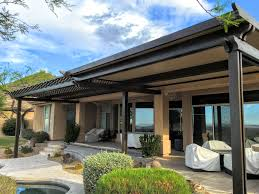 16' x 55' Alumawood Patio Cover in Scottsdale, AZ - Royal Covers