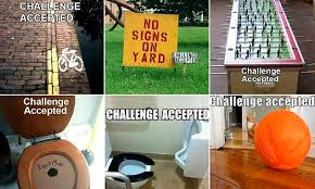 Funny Memes Of The Challenge Accepted Social Media Trend Daily Mail Online