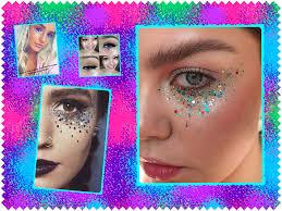 reasons uk festival makeup inspo