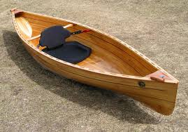 wooden strip built kayaks and canoes