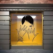 Wall Window Decal Sticker Nail Salon Nails Manicure Pedicure Window Decals Door Stickers Painting Quotes