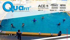 quafit aquatic fitness instructor