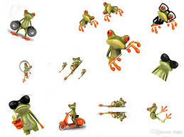2020 3d Frog Cartoon Personality Car Stickers Truck Front Window Windshield Wall Door Funny Vinyl Decal Sticker Car Accessories From Fepss 8 04 Dhgate Com