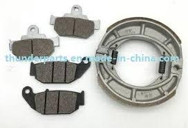 china parts of motorcycle brake shoe