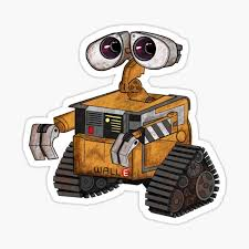 Wall E Stickers Redbubble