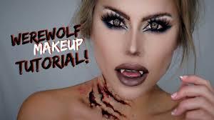 werewolf makeup tutorial halloween 2018