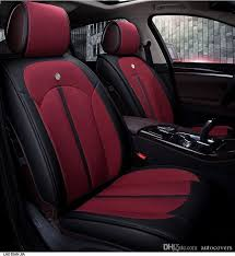 universal fit seat cover set for five