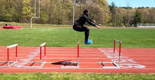hurdles for better plyometric