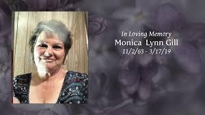 Obituary | Monica Lynn Gill of Unicoi, Tennessee | Cox Funeral Home