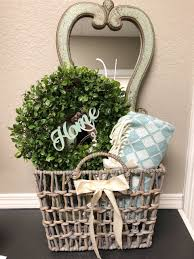 housewarming gift basket idea house