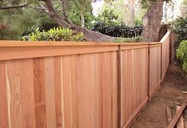Pin By Megan Mcquillin On Outside Redwood Fence Wood Fence Design Wood Fence